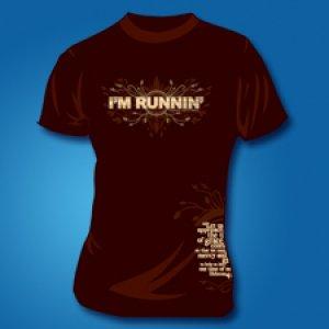 I'M RUNNIN' (short-sleeve)