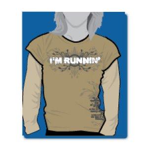 I'M RUNNIN' (long-sleeve)